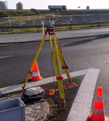 Ingenieurbüro Schmechtig - Ergolsbach - Dienstleistung - Satellitenvermessung
