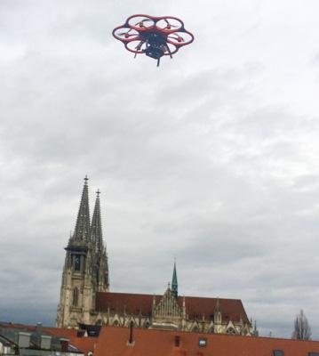 Ingenieurbüro Schmechtig - Ergolsbach - Dienstleistung - UVA Befliegung
